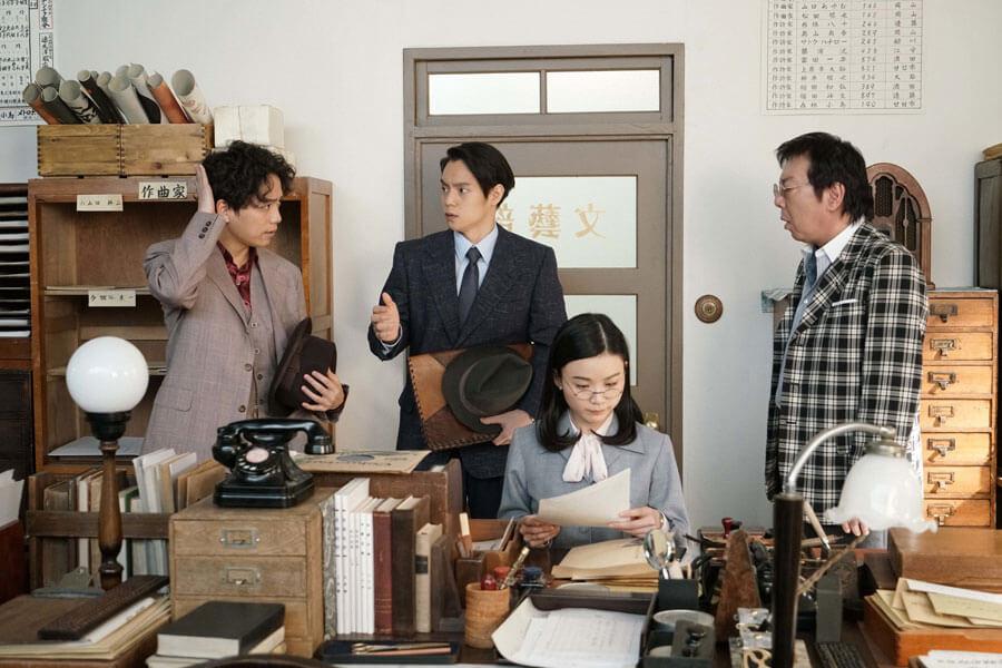 「コロンブスレコード」を訪れた久志(山崎育三郎)(C)NHK