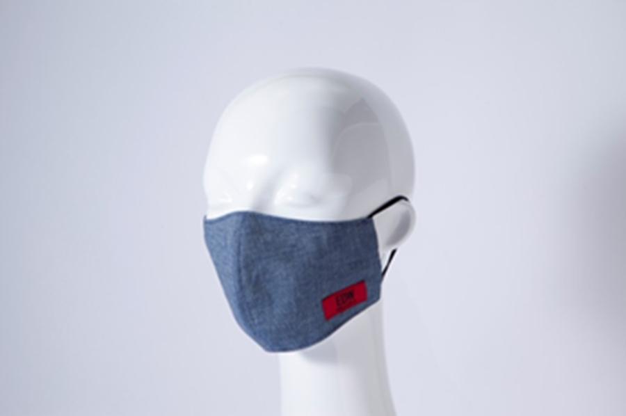 EDWINのコラボマスク、服とのコーデを提案