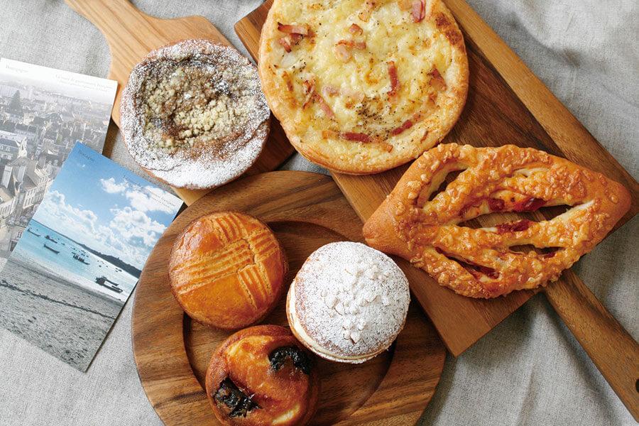 ジョアン『フランスフェア~パンとお菓子で巡るフランス~』の全6品