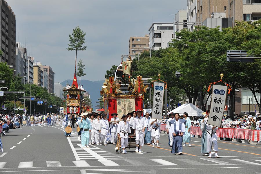 今年は中止になった「祇園祭」の山鉾巡行。写真提供:「祇園祭山鉾連合会」