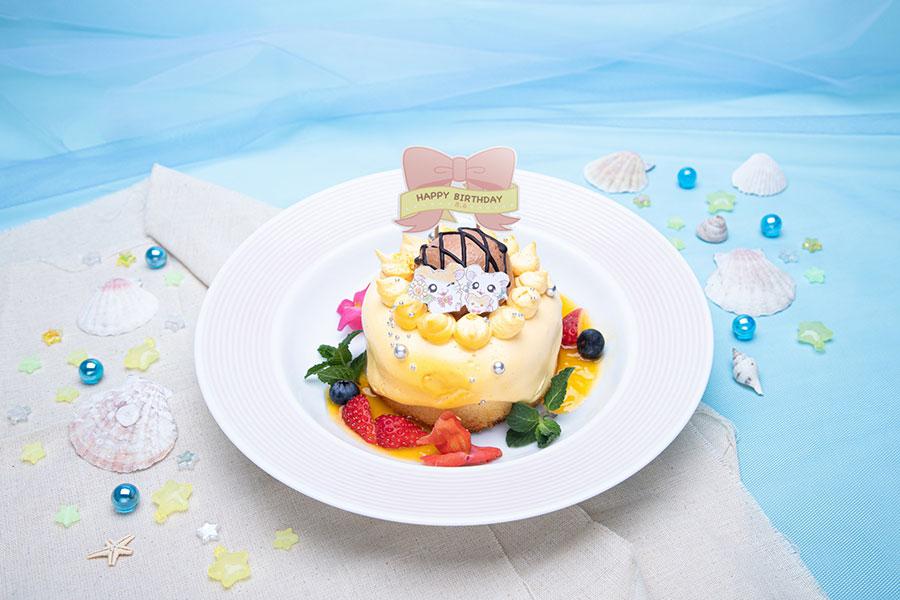 8月6日に誕生日を迎えるハム太郎の誕生日を祝う「HAPPY HAMU HAMU バースデーケーキ」(1499円)が期間限定で登場(〜8月16日のみ)