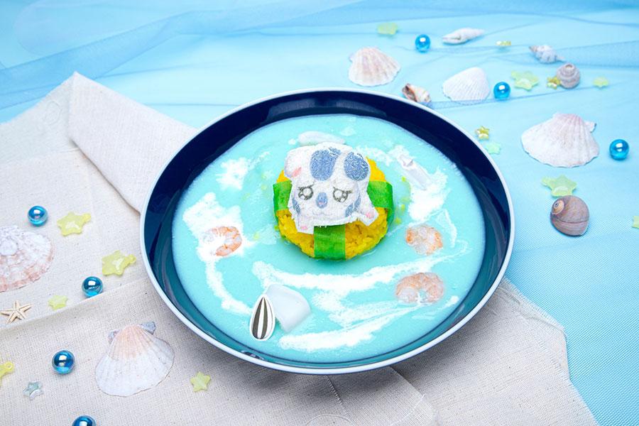 「タネを落としたですぅ~ こうしくん海カレー」(1499円)