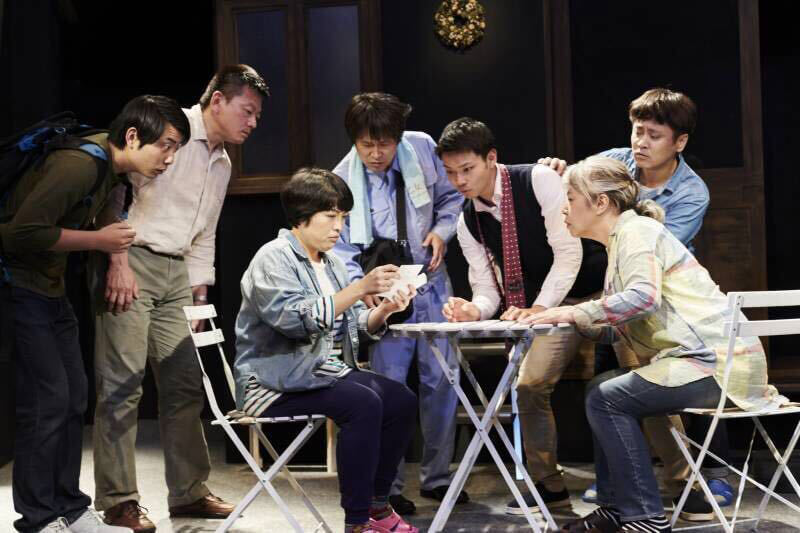 空晴・第17回公演「となりのところ」(2018年6月上演・HEP HALL)より 写真/衛藤キヨコ