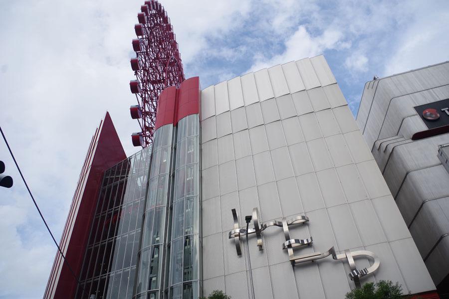梅田のファッションビル「HEP FIVE」の最上階に劇場があることを知らない人も多いという