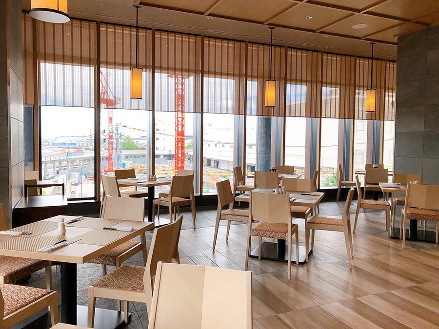 宿泊客でなくても利用できる、朝食レストラン「彩ーIRODORIー」