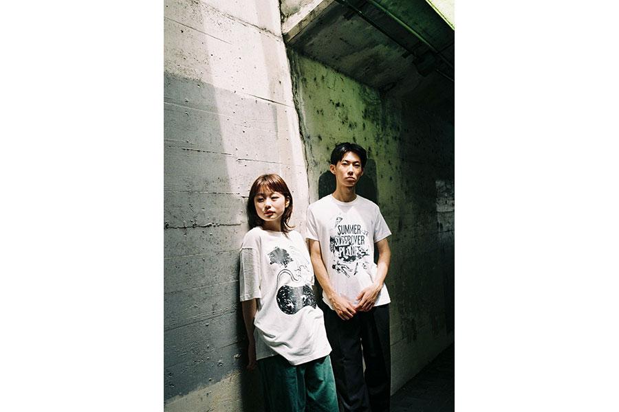 (左から)Midori Tsuchiya「テクタイト」、Takumi AKITA「SUMMER SLEEP OVER PLANET」