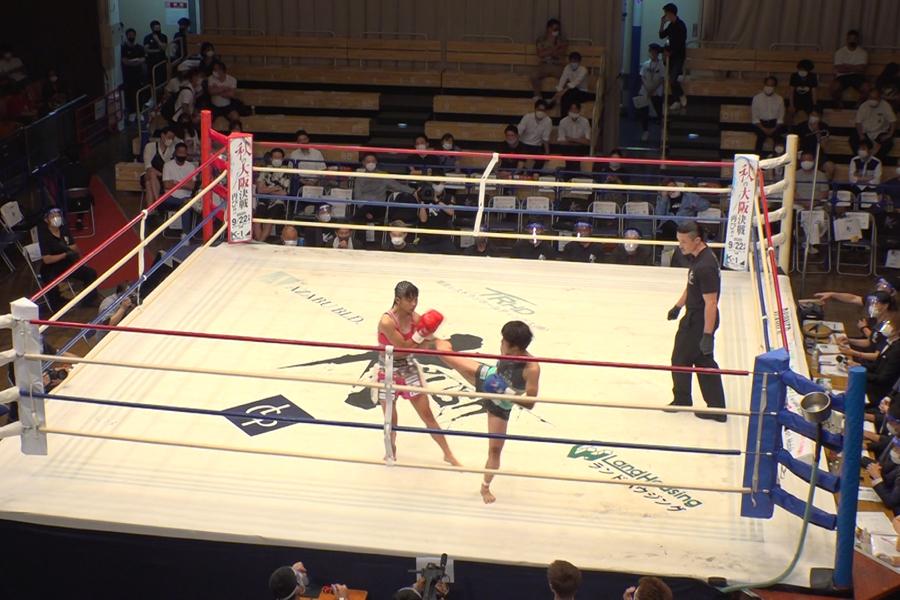 果たして、女子アトム級王座決定トーナメントの結果は(写真提供:MBS)