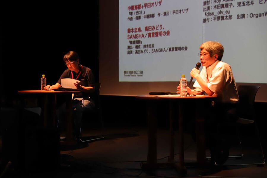 「アジア最大の演劇祭へ進化するとともに、一度訪れた人に『フェスティバルがないときでも、もう1回来たい』と思わせることが狙い」と平田オリザ(7月 1日・豊岡市)提供:豊岡演劇祭実行委員会