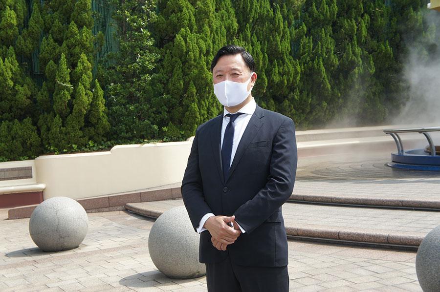 同パークの執行役員副社長・村山卓氏