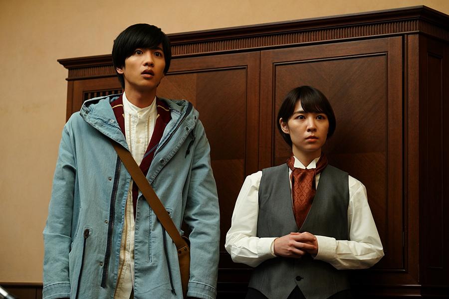 左から、志尊淳、吉谷彩子 ©ktv