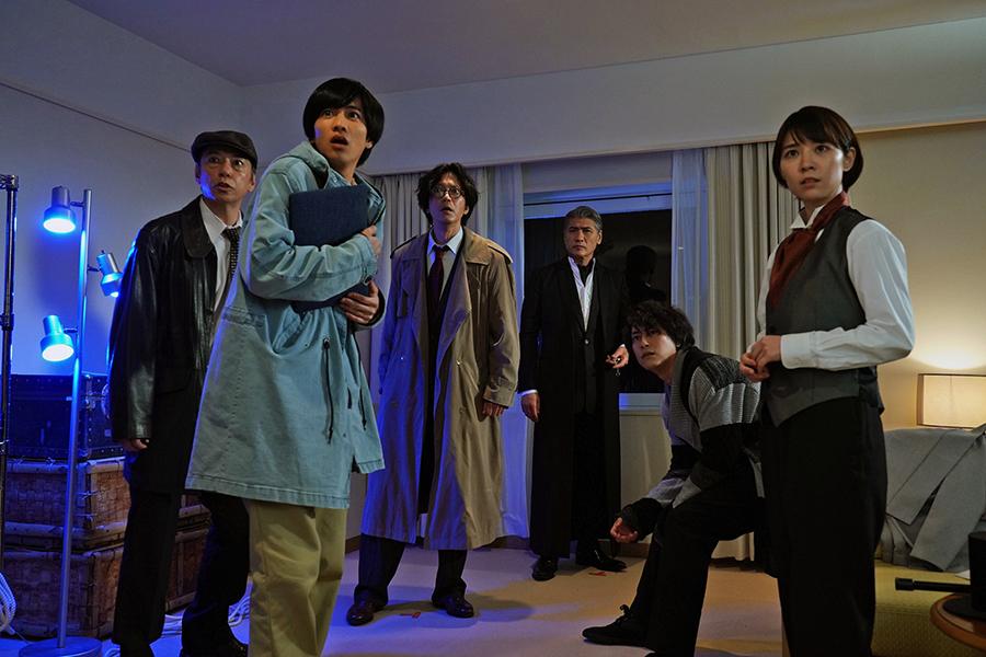 ドラマ『探偵・由利麟太郎』のワンシーン ©ktv