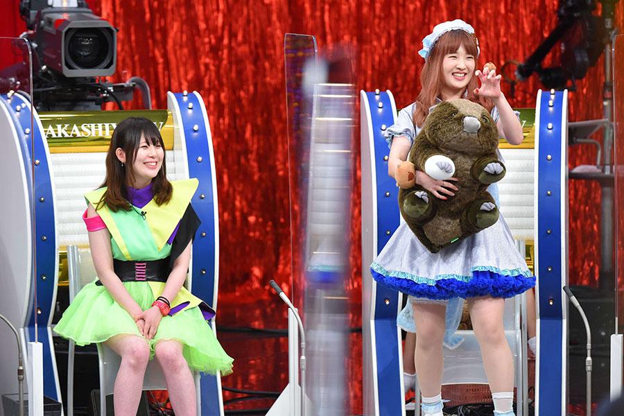 (左から)家業と地下アイドルの2足のわらじをはく「りりかる*ことぱぉ」、ウォンバットが大好きな大阪・池田のご当地地下アイドル「MaleeNa」(写真提供:MBS)