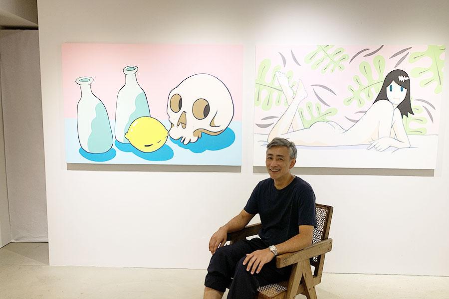 TAKERU AMANOの自身初となる作品集「ICONS」の発表を記念した個展