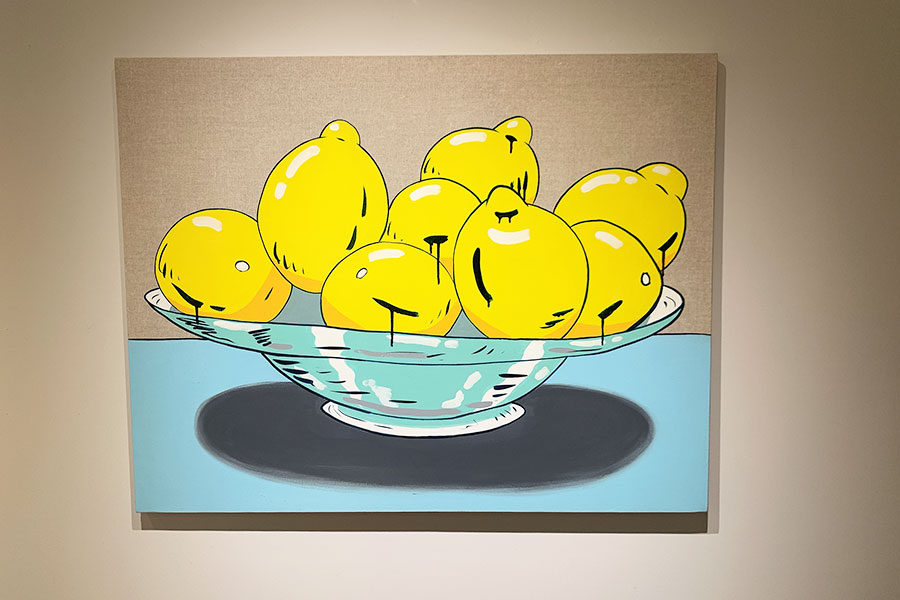 レモンを題材にした作品も多い