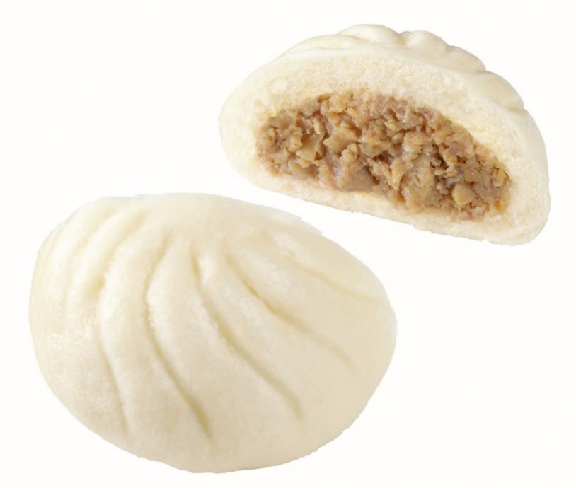 人気ナンバーワンの「熟成生地の本格肉まん」130円が100円に(〜8/22)