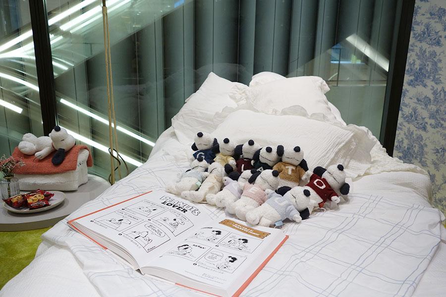 「ジェラート ピケ」の各ぬいぐるみ3300円。人数制限するため、整理券を配布