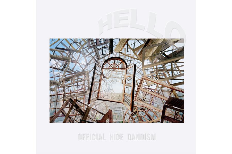最新EP『HELLO』のジャケットデザイン