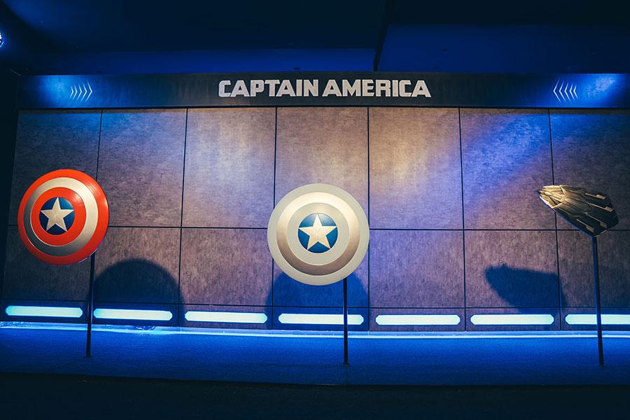 『キャプテン・アメリカ』シールド © 2020 MARVEL