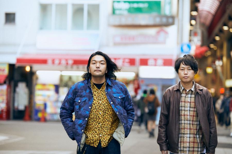 大阪を拠点に活躍する見取り図。右がリリー、左が相方の盛山。写真/南平泰秀