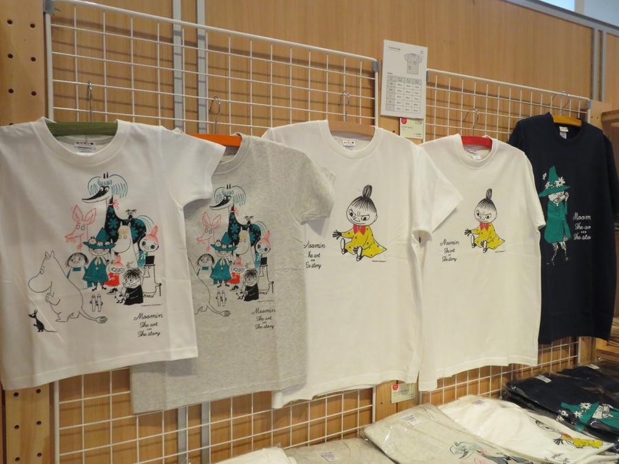 Tシャツの絵柄は3種類。各2640円