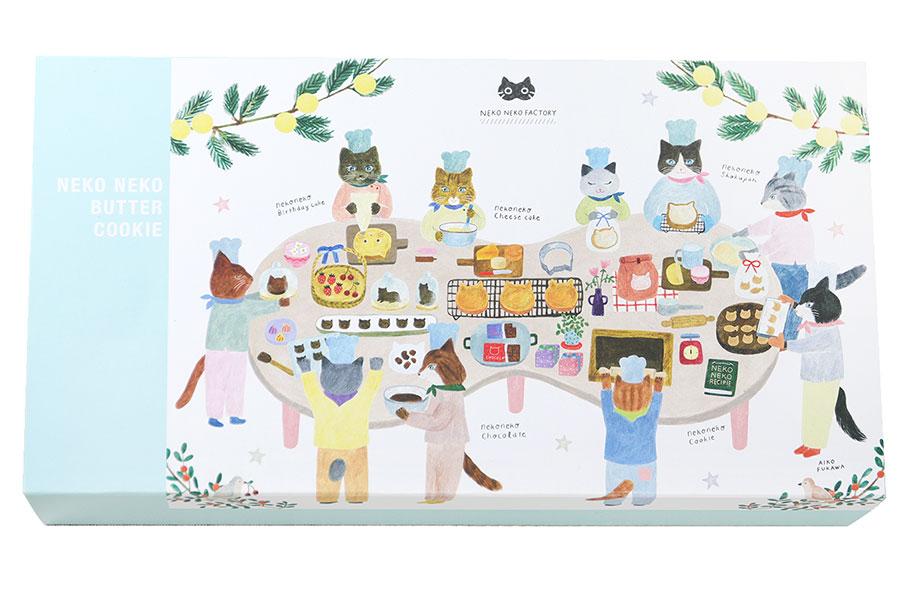 パッケージはイラストレーター・布川愛子によるオリジナルイラスト