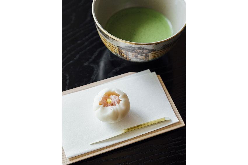 さかい利晶の杜の抹茶と和菓子(イメージ)