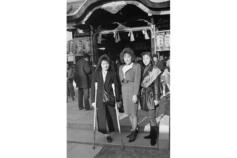 「大阪環状線 海まわり」より《恵美須神社 玉川4丁目1992.01.01》