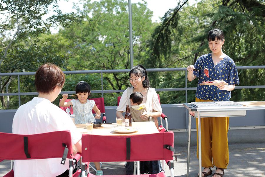 堺の公園に新設図書館、コーヒーやBBQも提案