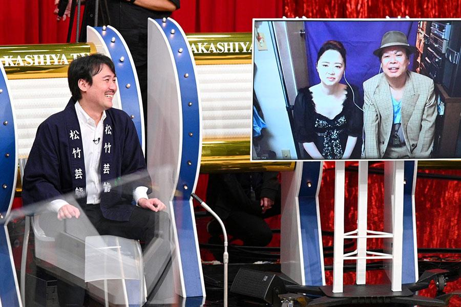 (左から)我こそは田中、まねだ聖子、ゴジーラ久山(写真提供:MBS)