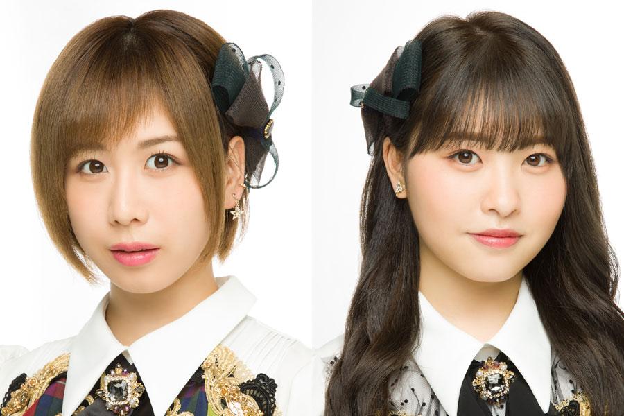 M−1に挑戦する、AKB48の大家志津香(左)、中西智代梨 (C)AKB48