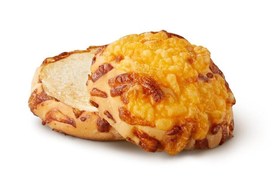 「チーズアグリービーフバーガー」に採用されたチーズバンズ