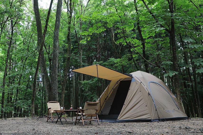 クイックキャンプのキャビンテント