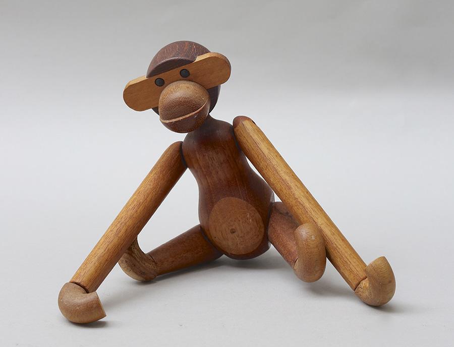 カイ・ボイイスン 玩具〈サル〉 1951年 カイ・ボイイスン 個人蔵 photo : Michael Whiteway