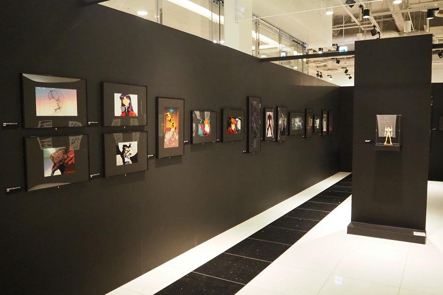 テレビシリーズ放送時の貴重なセル画も展示される (C)カラー
