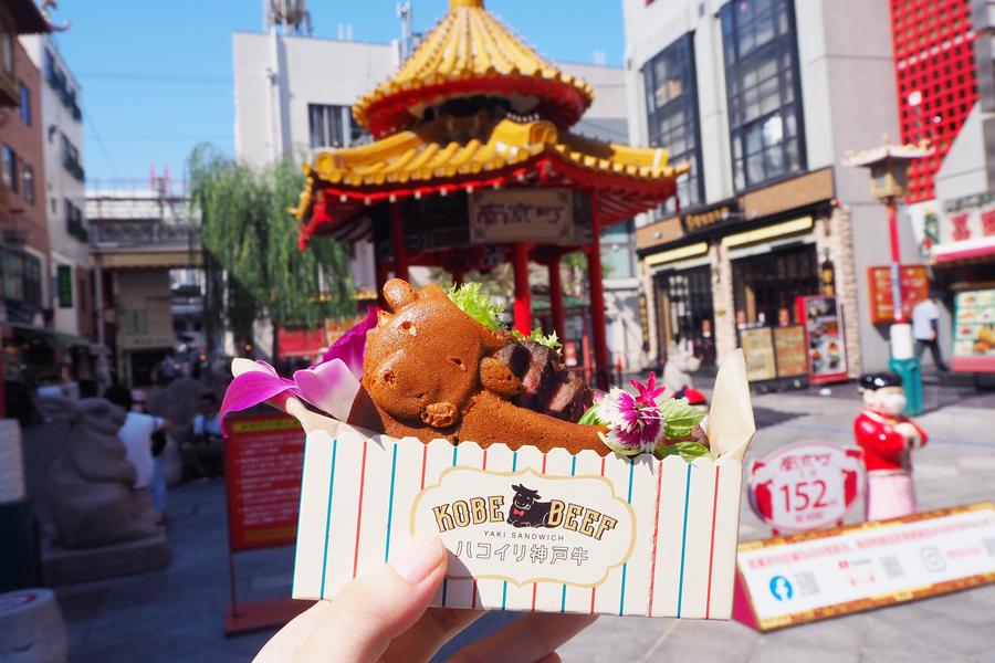 南京町広場に面していて、広場をバックに写真を撮るお客さんが多いそう