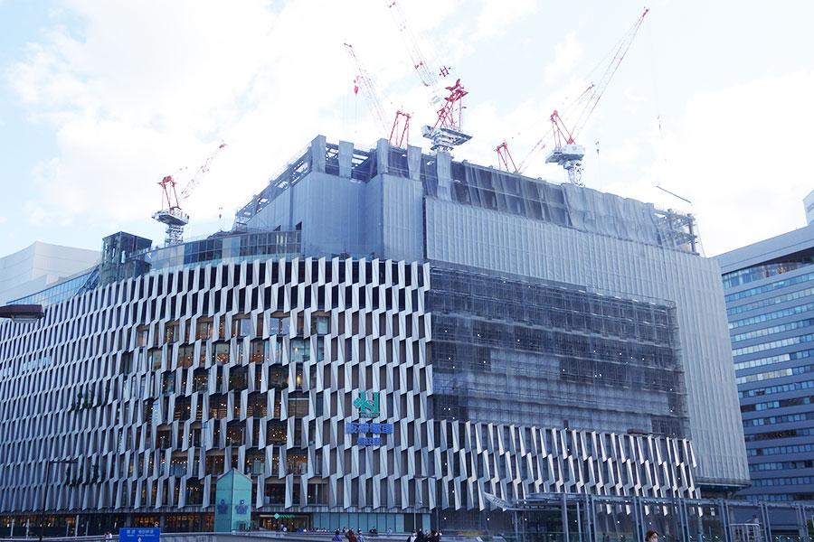 阪神梅田本店、建て替え工事で9階が10月から閉鎖