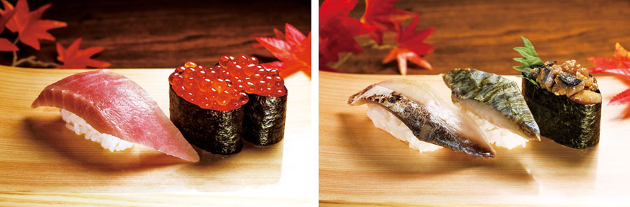 「くら寿司」の『熟成とろVSいくらフェア』