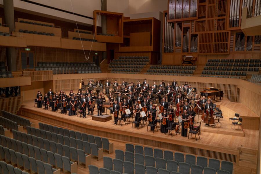 スペシャルセッションをおこなう京都市交響楽団