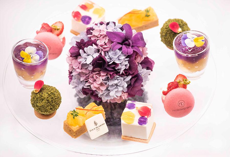 世界的な「花」カリスマがコラボ、京都でアフタヌーンティー