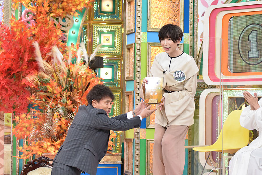 9月24日放送の『プレバト!!』に登場し、優勝を果たした光宗薫(写真提供:MBS)