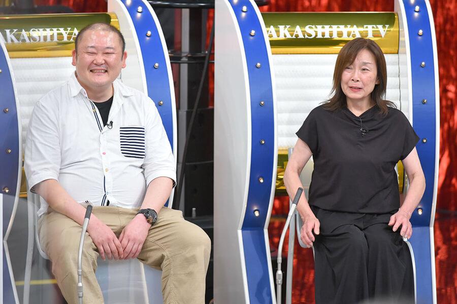 (左から)坂口敏之さん、千恵美さん夫妻(写真提供:MBS)