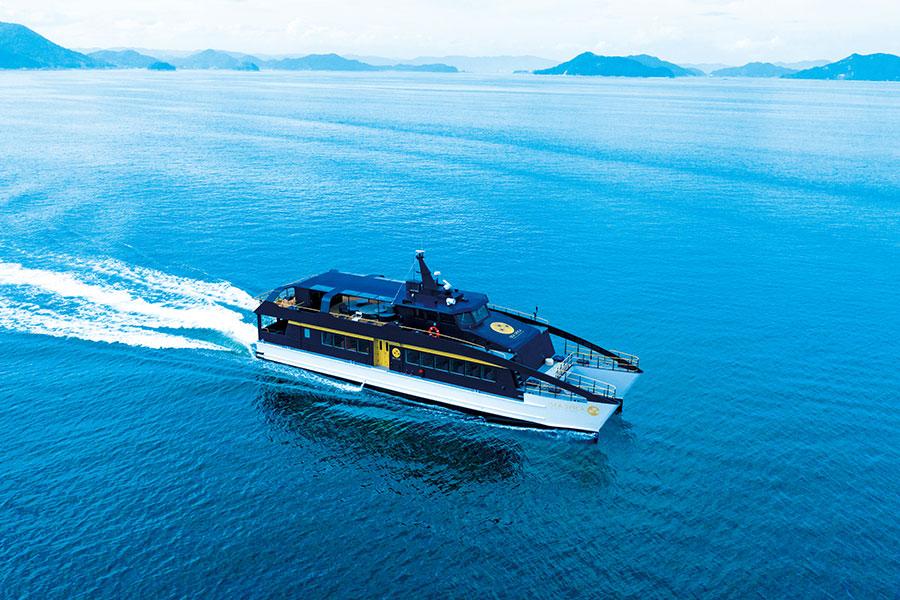 2020年9月から運航されている「SEA SPICA(シースピカ)」