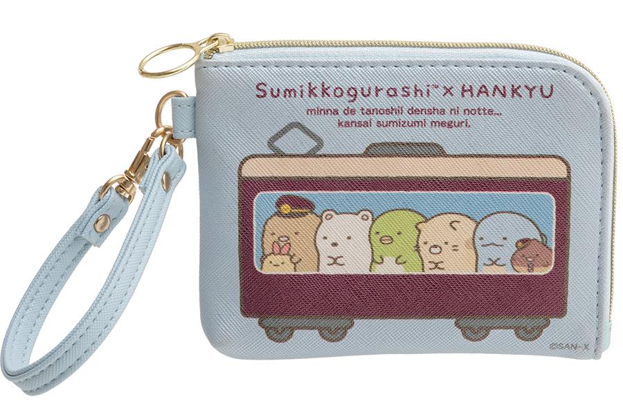 「コインケース付パスケース」(1600円)©SAN-X 2020 ©HANKYU