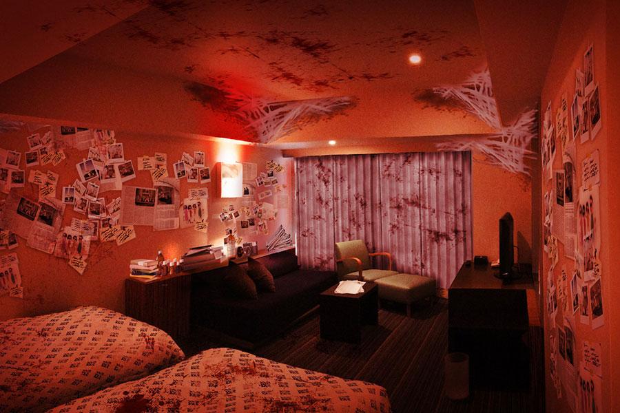 「THE JOURNALIST 〜写真が明かす記憶(かぎ)」客室のイメージ