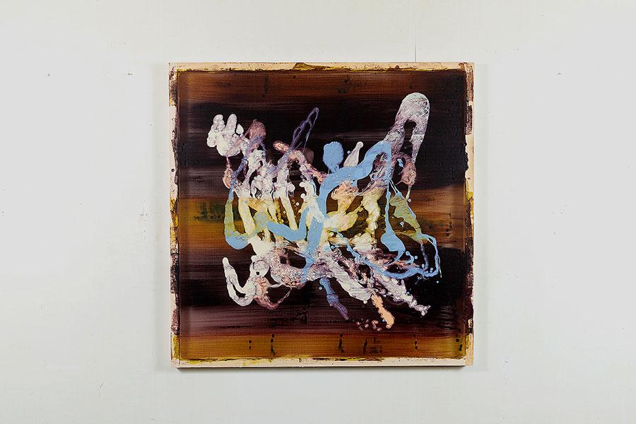 胎内をテーマにした作品のひとつ、「胎内衆会」