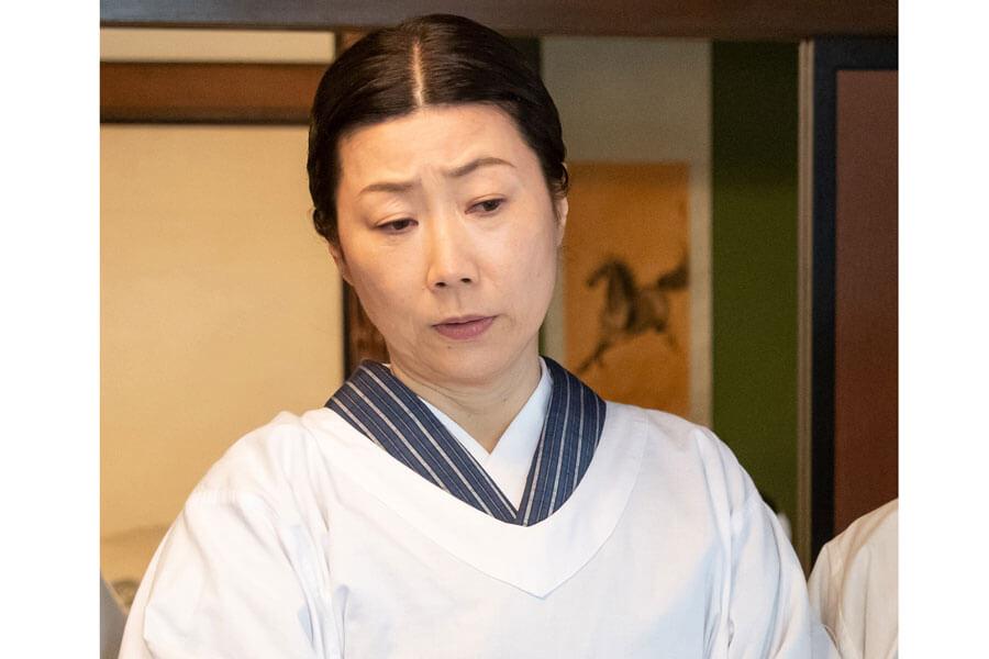 朝ドラには『まれ』(2015年前期)以来5年ぶり2回目の出演となる峯村リエ(C)NHK