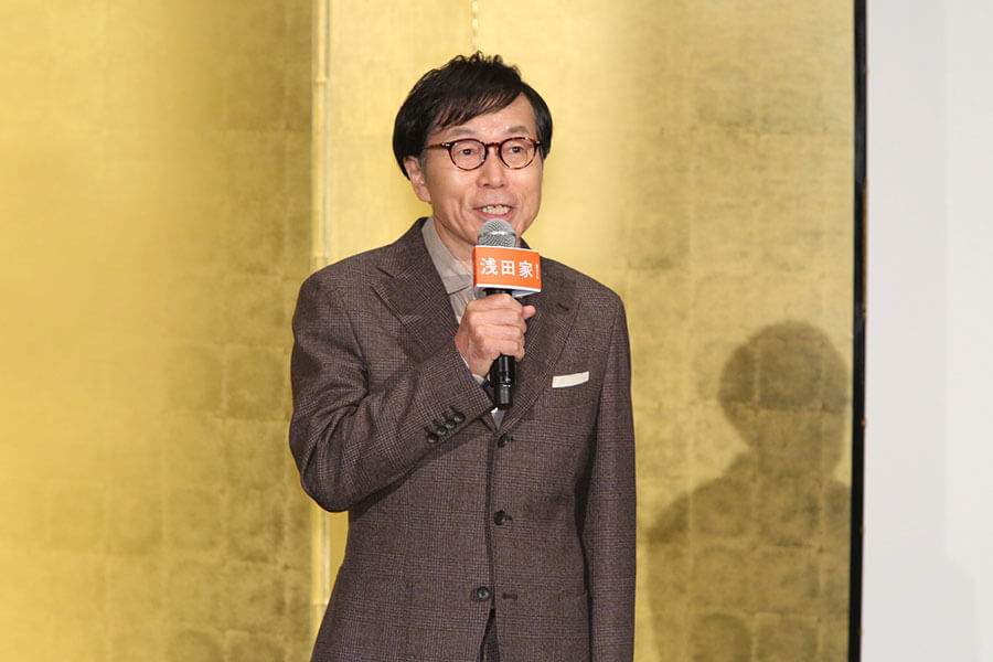「こんなに人を好きになる映画に出演できて嬉しいです」と話す平田満