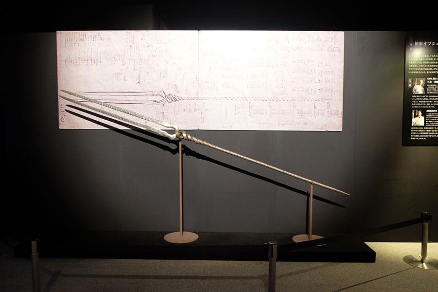 この作品を作るために従来の工房を拡張してまで製作した職人渾身の一作「ロンギヌスの槍」は必見