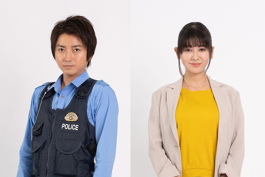 主演の藤原竜也(左)と、ヒロイン役の真木よう子