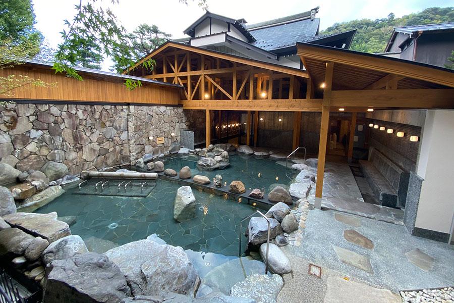 城崎温泉・御所の湯がリニューアル、全面露天風呂に